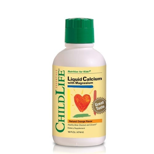 ChildLife Liquid Calcium with Magnesium Dietary Supplement for Babies, Toddlers and Kids
