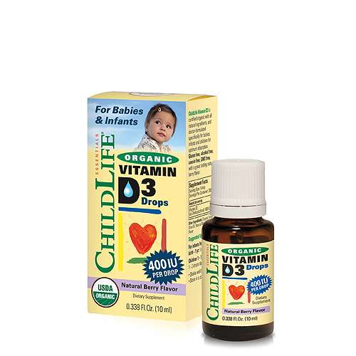 ChildLife Organic Vitamin D3 Drops Dietary Supplement for Babies, Toddlers and Children |Organic Vitamin D drops for Infants |#Organicvitaminddropsforinfants