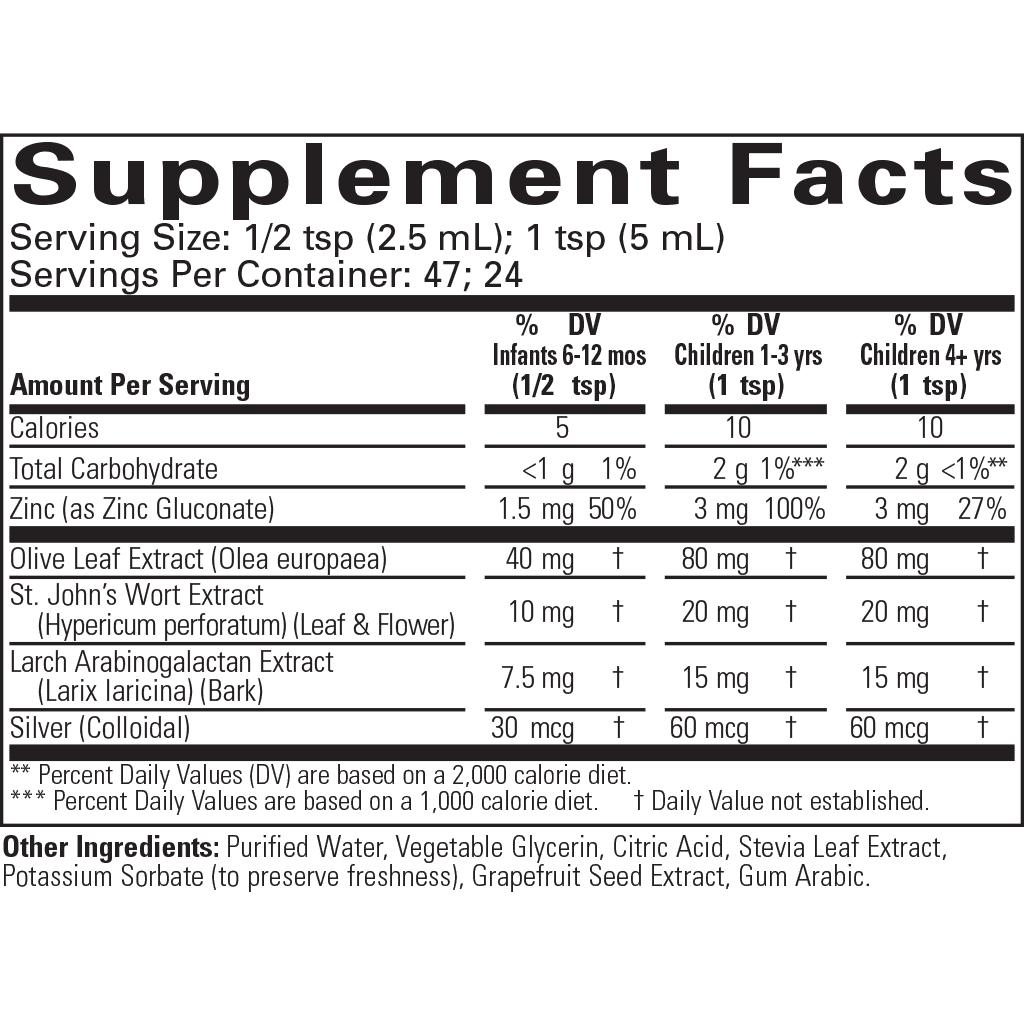 ChildLife-Essentials-First-Defense-Supplement-Facts