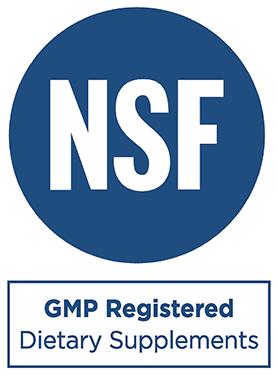 NSF GMP Registered