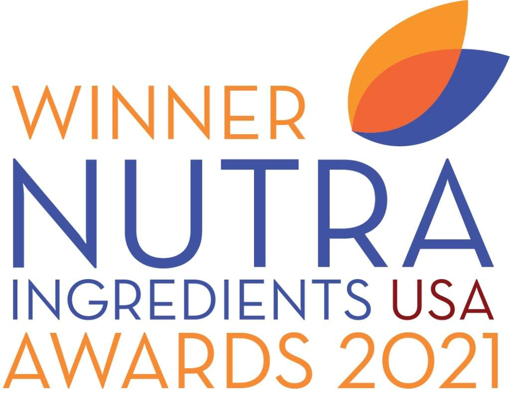 winner of the Nutra Ingredients USA award 2021